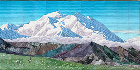 Seasons Of Denali--Top Panel